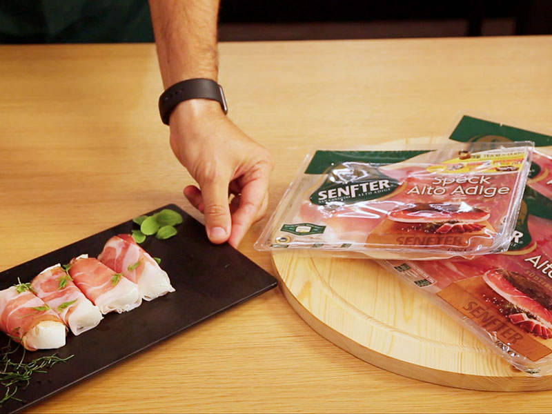Grandi Salumifici Italiani new products video launch frame