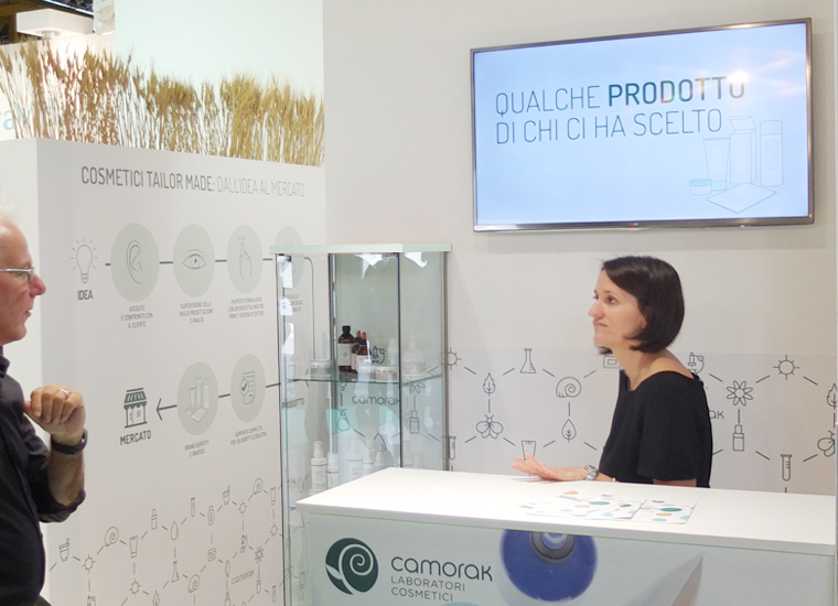 Camorak Exhibition Stand