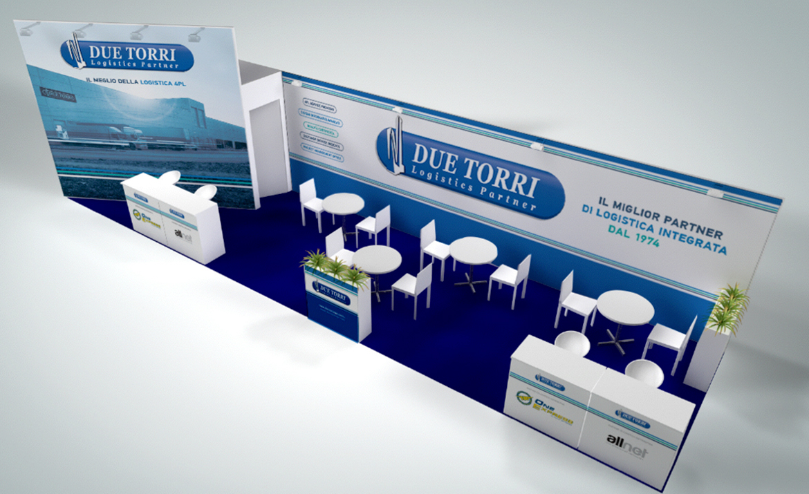 Due Torri Exhibition Stand