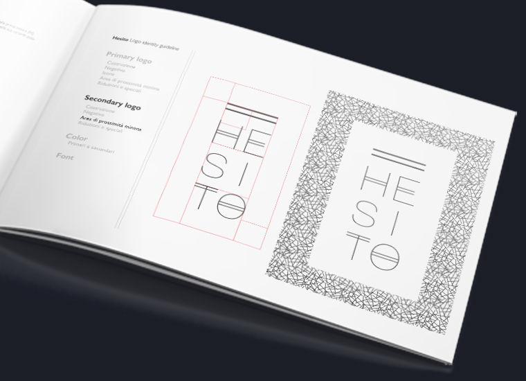 HESITO Logo design manual